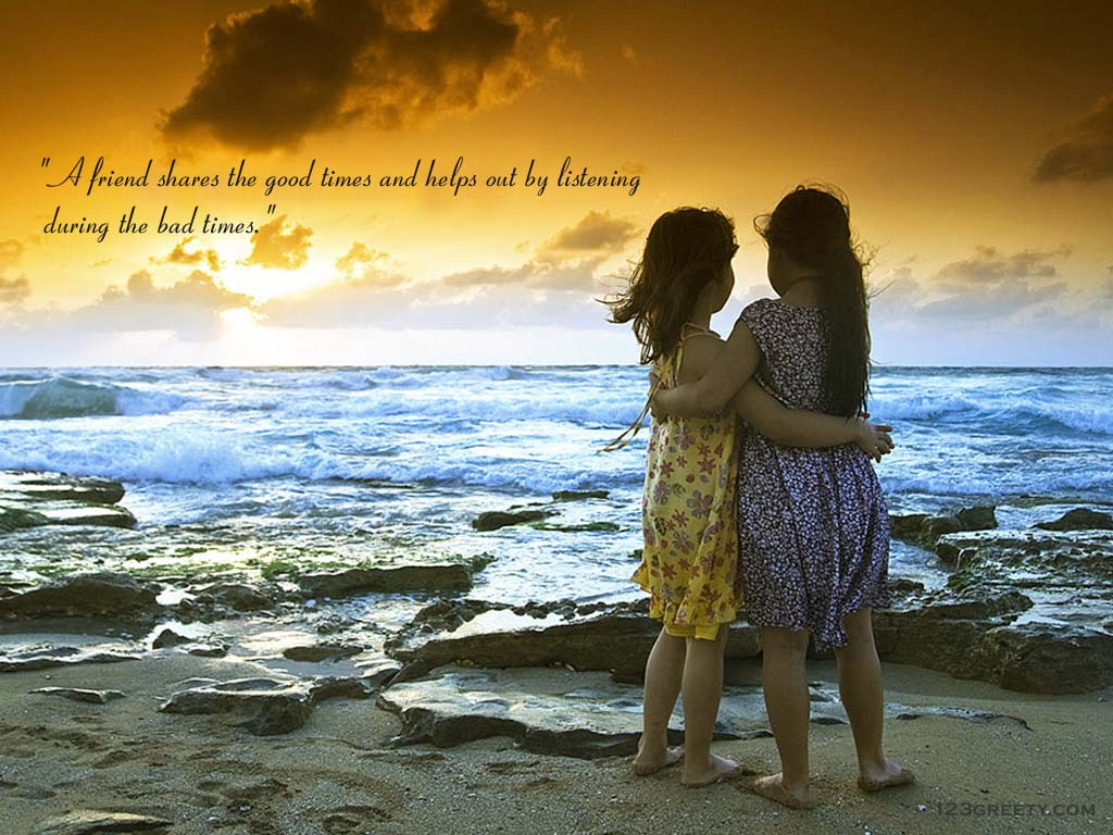 Friendship Day Wall Paper And Quotes For Girls
