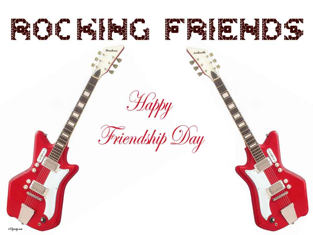 Rocking Friendship Wallpaper