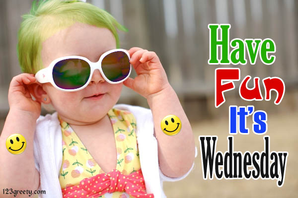 Happy wednesday comments with a fun baby
