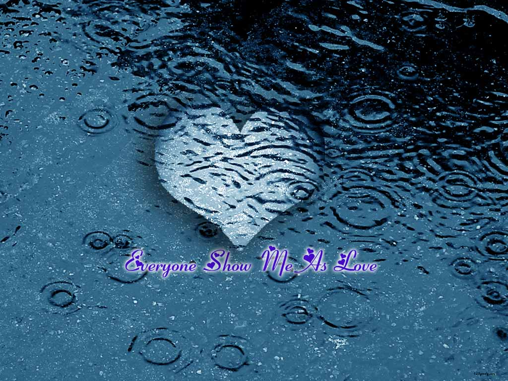 Love Wallpaper In Rain : love wallpapers Page 2 123greety.com