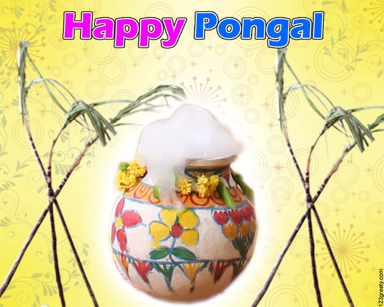 Pongal Greetings 123greety