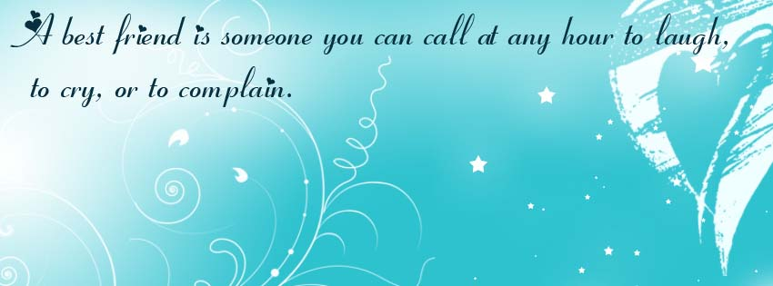 Facebook Cover Photo With Friendship Quotes 123greety