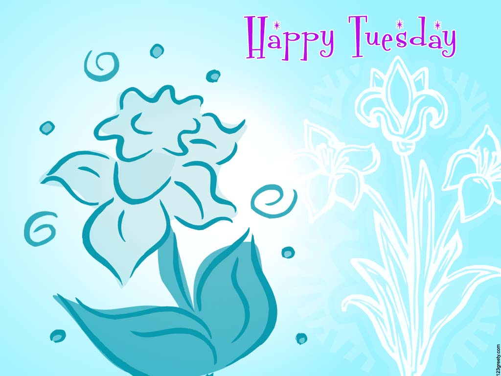 Happy TuesdayHappy Tuesday Wallpaper